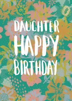 Rebecca Prinn - RP Loose Flower Pattern Daughter Birthday