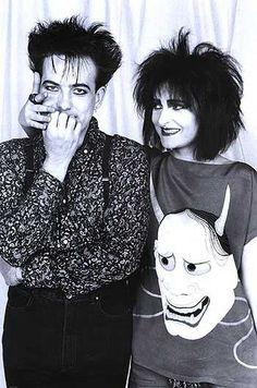 Robert & Siouxie