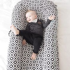 Daily dose of cute @ourlittlephotodiary in his Mod Pod DockATot! The must-have baby gear for getting your little ones to sleep safely, soundly and for super long stretches.