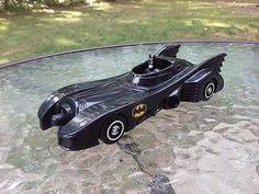 Batman Batmobile Car Vintage 1989 Dc Comics Free Shipping #DCComics