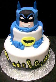 The Dark Knight Birthday Cake And Cupcakes Jerry Wants For His - Dark knight birthday cake