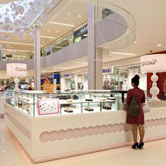 Once Upon A Cupcake Kiosk at West Edmonton Mall in Edmonton, AB - designed by GH+A