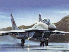 Soviet MiG-29 Aircraft