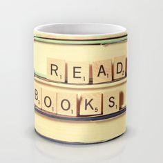 Read Books Mug by Olivia Joy StClaire   Society6