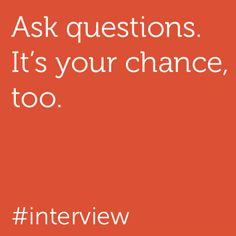 Another interview tip from us: It's important that you find the right fit for your career goals, so do ask questions during the interview. Learn more at http://dell.to/14vwGC4.