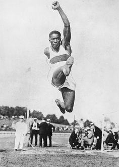 African-American Firsts Athletes: 1924: Dehart Hubbard becomes the first African-American to win an Olympic gold medal in an individual event (long jump).