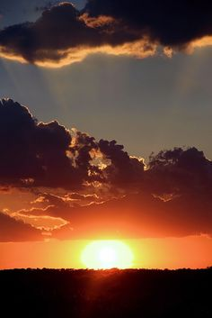 Another Beautiful Texas Sunset by Elizabeth Budd on Flickr.