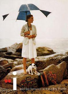 Natalie Portman and dog. Teen Vogue