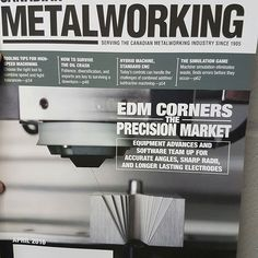 A huge thank you to my staff for getting Hillburn Machine Shop featured in Canada's metal working magazine.