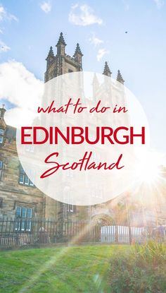 Heading to Scotland and wondering what to do in Edinburgh? Be sure to check out these top sites and enjoy this beautiful and ancient city! #Edinburgh #Scotland