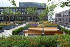 Bildergebnis für Bepflanzung industriegebäude