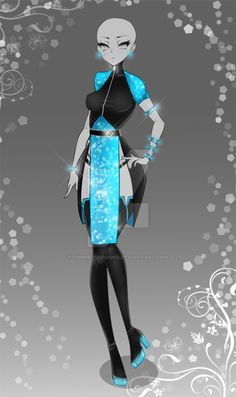 (closed) Auction Adopt - Outfit 402 by CherrysDesigns Dress Drawing, Drawing Clothes, Fashion Design Drawings, Fashion Sketches, Character Outfits, Character Art, Cosplay, Vestidos Anime, Warrior Outfit