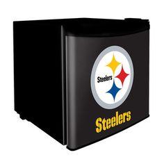 Pittsburgh Steelers 1.7 Cubic Foot Dorm Size Fridge
