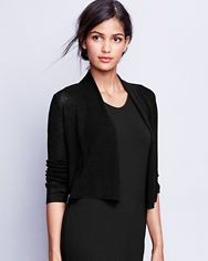 Shop beautiful women's pullover sweaters and cardigan sweaters at Garnet Hill. Find quality cashmere, cotton, linen, and merino wool sweaters for women. Eileen Fischer, Summer Cardigan, Cropped Cardigan, Knit Blazer, Heels Outfits, Merino Wool Sweater, Cardigans For Women, Casual Tops, Tunic Tops