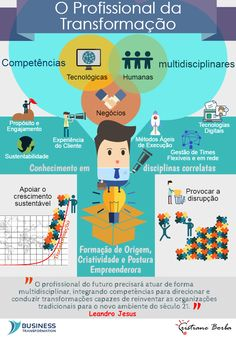 BPM & Business Transformation & Inovação: O Profissional da Transformação