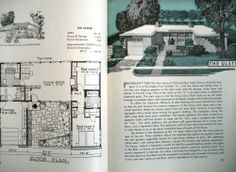 from The Book of Small Houses, 1946  -- plans by architect Paul Williams