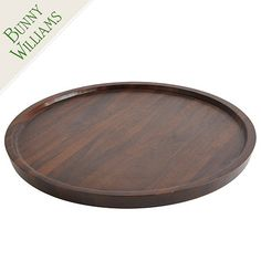 Bunny Williams Wood Lazy Susan