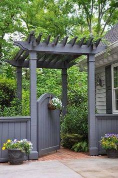 Otthon teremtő: 20+1 különleges kertkapu