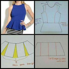 Image Article – Page 410038741072028223 Linen Dress Pattern, Bodice Pattern, Kurta Designs Women, Blouse Designs, Blouse Patterns, Clothing Patterns, Costura Fashion, Sewing Blouses, Sewing Pants