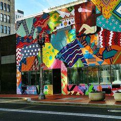 Photo by Patrick Morgan | #mural #portlandoregon #pdxnow #portlandart #portlandor #downtownportland