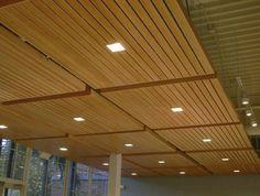 Soundproof A Basement Ceiling - Wood Panel Ceiling