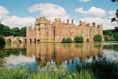 Herstmonceux Castle by Chris Downer - near to Wartling, East Sussex, Great Britain