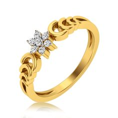 Gold Jewelry Simple, Gold Rings Jewelry, Jewelry Design Earrings, Gold Earrings Designs, Womens Jewelry Rings, Jewelery, Gold Ring Designs, Gold Bangles Design, Gold Jewellery Design