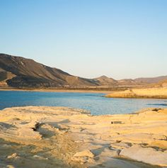 El Playazo beach in the stunning Rodalquilar valley in Cabo de Gata