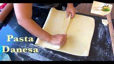 Receta de pasta danesa masa para roles, croissant, napolitanas y mas