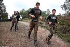 Tough track: The course, which is used daily for Royal Marines recruit and officer trainin...