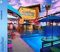 sandbar chandler az - Unique atmosphère... beach sand on the floor