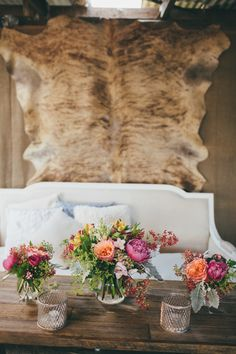 Cozy seating lounge | Photography: Artography  - www.artographyweddings.com.au  Read More: http://www.stylemepretty.com/2014/07/17/rustic-glam-cattle-station-wedding/