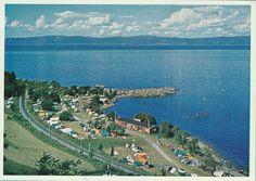 Sør-Trøndelag fylke Trondheim Vikhammerløkka Camping 1960-tallet Utg Panorama kunstforlag