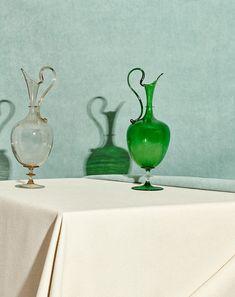 Venetian Glass, Murano Glass, Glass Vase, Antique Perfume Bottles, Fractal Art, Fractals, Glass Collection, Vintage Ceramic, Hand Blown Glass