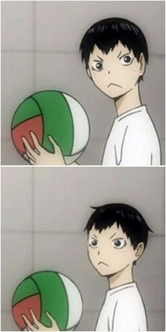 Kageyama is just too adorable ( TДT)/⸜♡