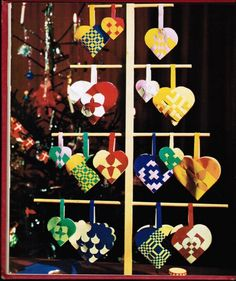 Danish christmas hearts ~ links to instructions