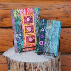 Free Sewing Pattern and Tutorial - Quilted Book Covers Sewing Patterns Free, Free Sewing, Sewing Tutorials, Quilt Patterns, Free Pattern, Sewing Tips, Sewing Hacks, Fabric Art, Fabric Crafts