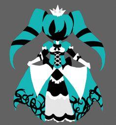 Vocaloid- Princess of Turqoise by Dj-Mewmew.deviantart.com on @deviantART