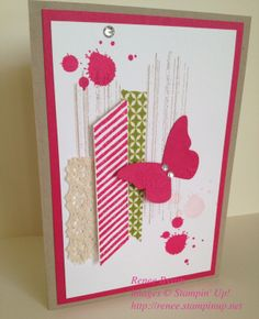 Stampin Up! Gorgeous Grunge Butterfly