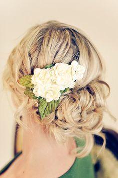 Daphnie Bridal Hair Barette by TheLastBranch on Etsy, $20.00