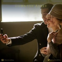 The Bates' Legal Team : Downton Abbey behind the scenes | Thomas, Daisy & Gwen :)