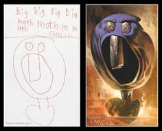 Dave Devries realistic interpretations of children's art