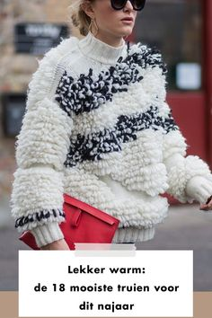 Sweater | fluffy | bag | red | ootd | outfit of the day | styling | style | fashion | fashionchick | artikel | article