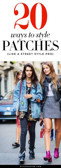 Fall Outfit Trend: Patches - 20 ways to style the patches trend like a street style pro