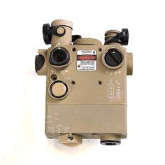 DBAL-i2 (Dual Beam Aiming Laser) Civilian Legal IR Laser, Green Visible Laser, Tan Body