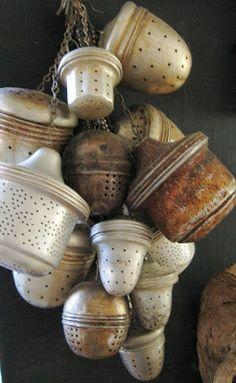 Tea infusers.   Art Propelled: THE COMFORT OF TEA