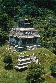 Palenque ~ a Maya city state in southern Mexico. Ruins date back to 226 BC to around 799 AD.