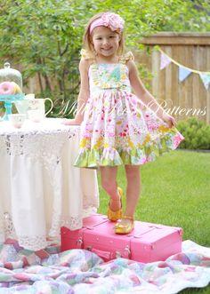 Millie's Flutter Dress PDF pattern instant by millierosepatterns, $10.50