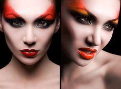 Fire makeup!  Alex_Lim  Photographer