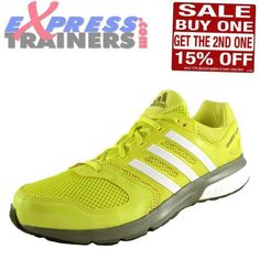 Adidas-Questar-Boost-Mens-Running-Shoes-Fitness-Gym-Workout-Trainers-Green